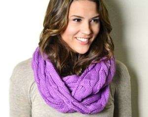 radiant orchid scarf