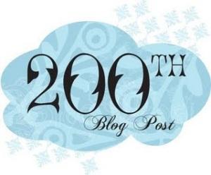 200th blog post