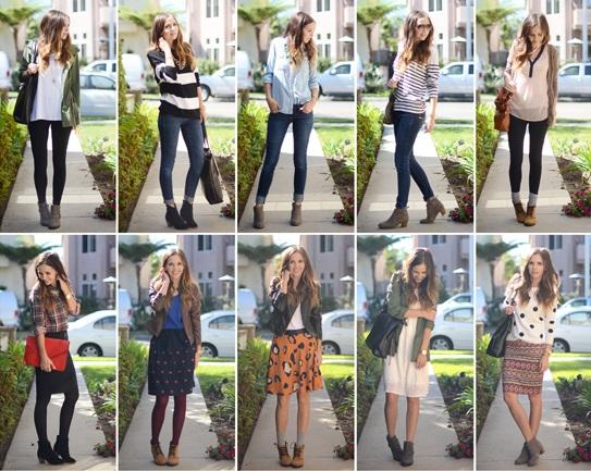 Risultati immagini per ankle boots collage photo